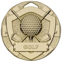 Golf Mini Shield Medal Trophy Award
