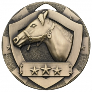 Equestrian Mini Shield Medal Trophy Award
