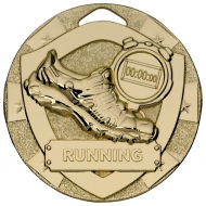 Running Mini Shield Medal Trophy Award