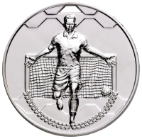 Football Scorer Male Medal Trophy Award