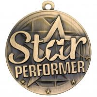 Star Performer Medal Trophy Award