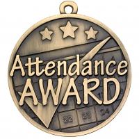 Attendance Medal Trophy Award