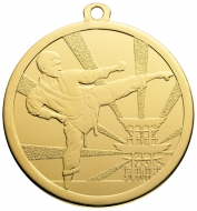 Martial Arts Gold Medal 70mm : New 2019
