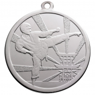 Martial Arts Silver Medal 70mm : New 2019