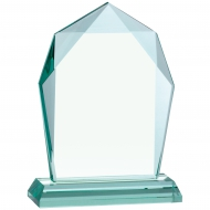 Jade Glass Award 7 inches 18cm : New 2020