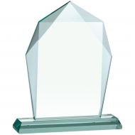 Jade Glass Award 8.75 inches 22cm : New 2020