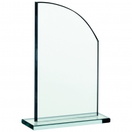 Glass plaque 6.75 inches Trophy Corporate Award