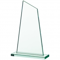 Glass plaque 8 inches Trophy Corporate Award