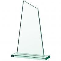 Glass plaque 8.75 inches Trophy Corporate Award