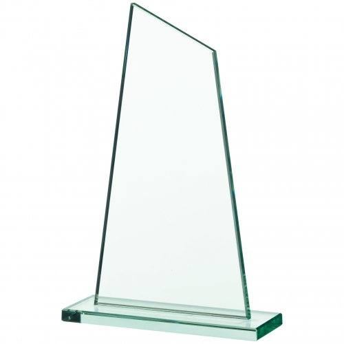 Glass plaque 9.5 inches Trophy Corporate Award