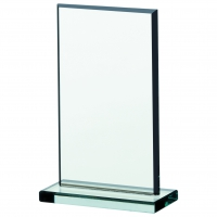 Jade glass plaque 4.25 Trophy Corporate Award