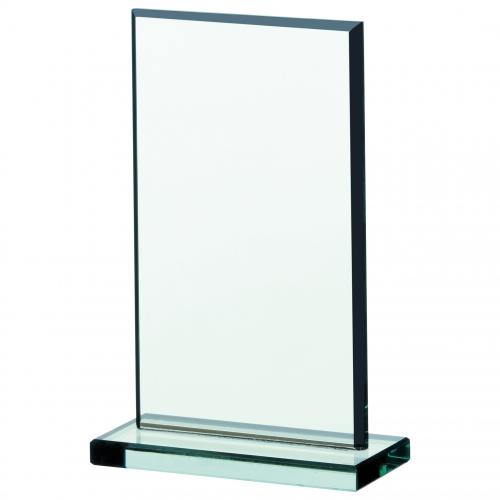 Jade glass plaque 4.25 Trophy Corporate Award
