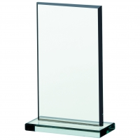 Jade glass plaque 5.25 Trophy Corporate Award