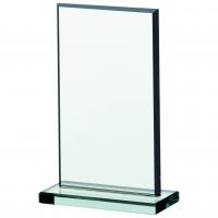 Jade glass plaque 5.25 Trophy Corporate Award