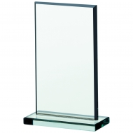 Jade glass plaque 6.75 inches Trophy Corporate Award