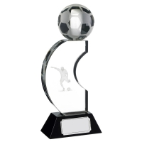 Crystal Arch Football Trophy Award