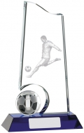 Football Glass Award 8 inches 20cm : New 2020