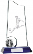 Football Glass Award 9 inches 23cm : New 2020