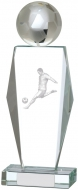Football Glass Award 9.25 inches 23.5cm : New 2020