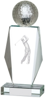 Golf Glass Award 8 inches 20.5cm : New 2020