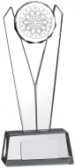 V Shaped Glass Darts Award 22cm : New 2019