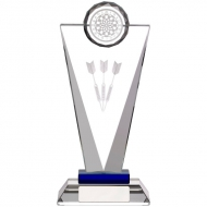 Glass Darts Trophy Award