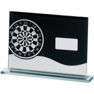Darts Glass Block Trophy Award
