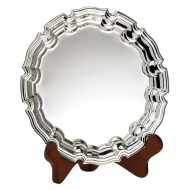 Nickel Plated Salver 7 inches 18cm : New 2020