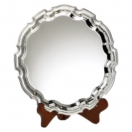 Nickel Plated Salver 9 inches 23cm : New 2020