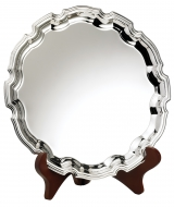 Nickel Plated Salver 11 inches 28cm : New 2020