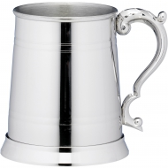 1 Pint Classic Lined Stainless Steel Tankard Trophy Award