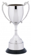 Nickel plated classic cup 10.25 inches Trophy Award