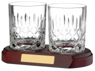 Whisky Glass Panelled Trophy Award