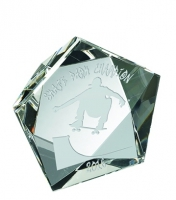 Star paperweight Trophy Corporate Award