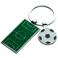 Football Pitch And Ball Keyrings Trophy Award