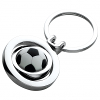 Football Spinner Keyring Trophy Award