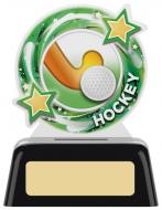 Hockey Round Award 4 inches 10cm : New 2020