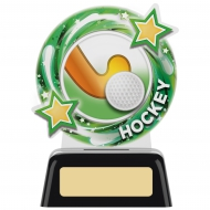 Hockey Round Award 4.75 inches 11.5cm : New 2020