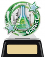 Science Round Acrylic Award 4 inches 10cm : New 2020