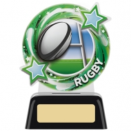 Round Rugby Award 5.25 inches 11.5cm : New 2020