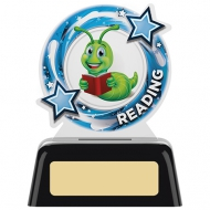 Reading Round Acrylic Award 4 inches 10cm : New 2020