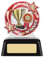 Winner Round Acrylic Award 4 inches 10cm : New 2020