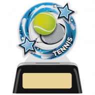Tennis Round Acrylic Award 4 inches 10cm : New 2020
