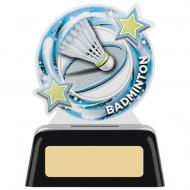 Badminton Round Award 4 inches 10cm : New 2020