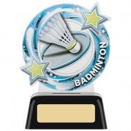 Badminton Round Award 4.75 inches 11.5cm : New 2020