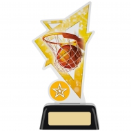 Basketball Acrylic Award 6.25 inches 16cm : New 2020