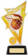 Basketball Acrylic Award 7.5 inches 19cm : New 2020