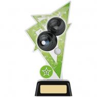 Lawn Bowls Acrylic Award 7.5 inches 19cm : New 2020
