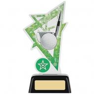 Golf Acrylic Award 6.25 inches 16cm : New 2020