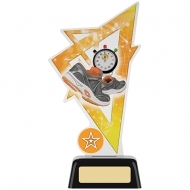 Running Acrylic Award 7.5 inches 19cm : New 2020